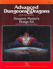 AD&D - Dungeon Master's Design Kit 9234