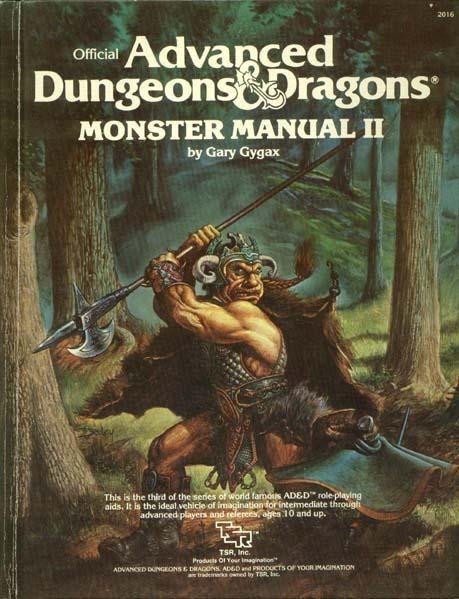 AD&D - Monster Manual II 2016 HC