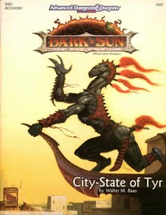 AD&D 2E Dark Sun City-State of Tyr SC 2420