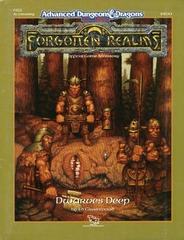 AD&D 2e FR11 - Dwarves Deep 9300