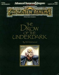 AD&D 2e FOR2 - Drow of the Underdark 9326