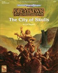AD&D 2E Greyhawk Adventures: City of Skulls 9405 WGR6