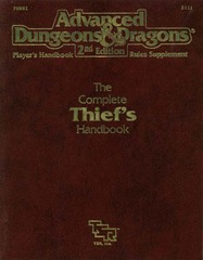 AD&D 2E PHBR2 Complete Thief's Handbook 2111