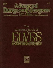 AD&D(2e) PHBR8 Complete Book of Elves #2131