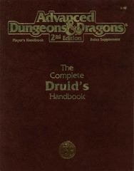 AD&D 2E Complete Druid's Handbook 2150