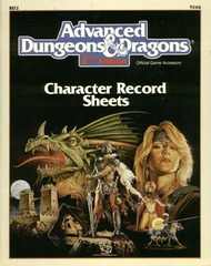 2nd Edition - Character Record Sheets (Good)