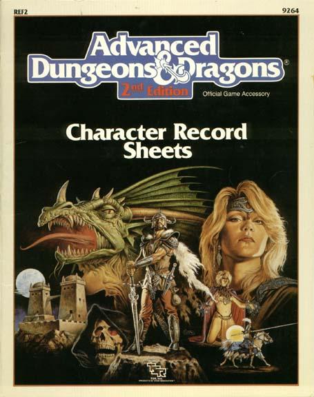 Character Record Sheets