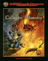 AD&D - College of Wizardry 9549
