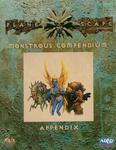 Planescape - Monstrous Compendium Appendix - AD&D 2E