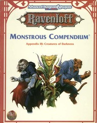 Ravenloft Monstrous Compendium Appendix III: Creatures of Darkness 2153