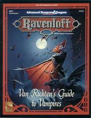 Ravenloft RR3 - Van Richten's Guide to Vampires 9345