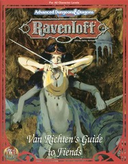 Ravenloft - Van Richten's Guide to Fiends 9477