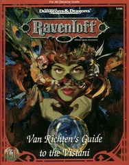 Ravenloft - Van Richten's Guide to the Vistani 9496