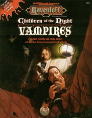 2nd Edition - Children of the Night: Vampires (Ravenloft Accessory) (Very Good)