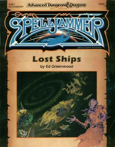 AD&D(2e) Spelljammer - Lost Ships 9280