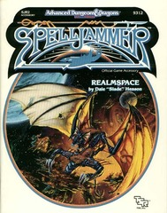 2nd Edition - Realmspace Spelljammer Game Accessory (Very Good)