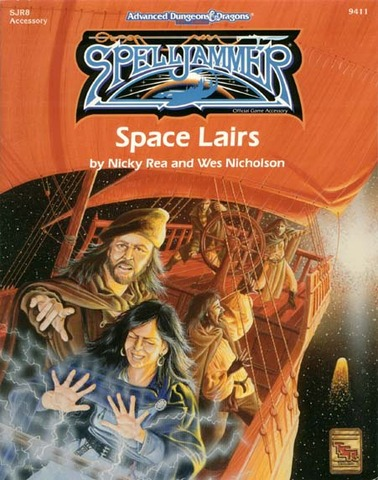 AD&D(2e) Spelljammer - Space Lairs 9411