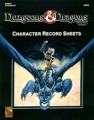 D&D DDREF1 - Player Character Record Sheets - 9308
