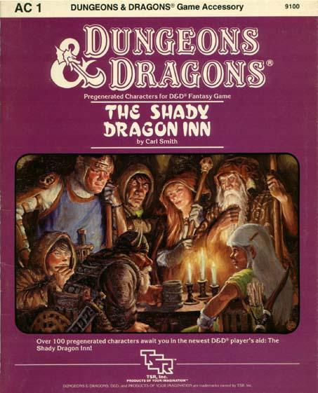 D&D AC1 - The Shady Dragon Inn 9100