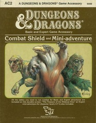 D&D AC2 - Combat Shield and Mini-Adventure 9099