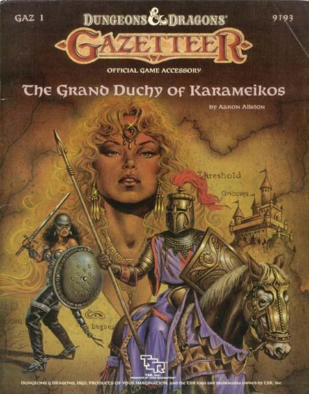 D&D GAZ1 - The Grand Duchy of Karameikos 9193