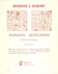Dungeon Geomorphs Set One: Basic Dungeon