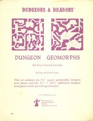 Dungeon Geomorphs Set Two: Caves & Caverns
