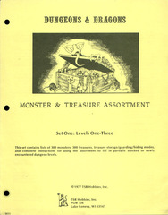 Monster & Treasure Assortment Set 1 Levels 1-3
