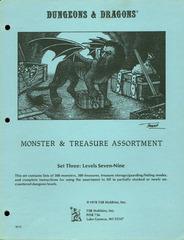 Monster & Treasure Assortment Set 3 Levels 7-9