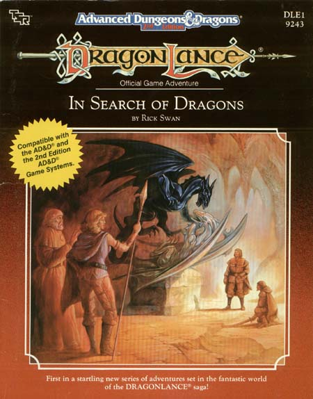 AD&D(2e) DLE1 - In Search of Dragons 9243