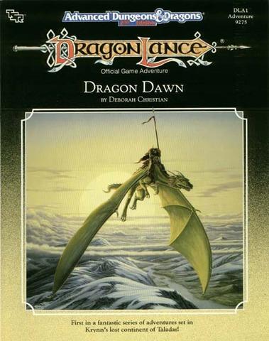 AD&D(2e) DLA1 - Dragon Dawn 9275