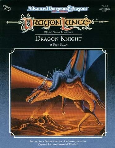 AD&D(2e) DLA2 - Dragon Knight 9285
