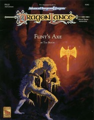 AD&D(2e) DLQ2 - Flint's Axe 9382