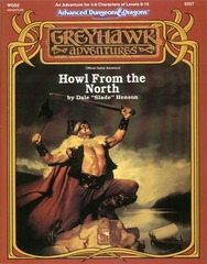 AD&D (2e) WGS2 - Howl from the North 9337
