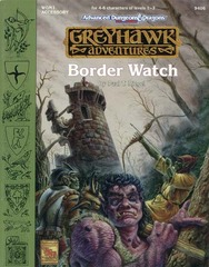 AD&D(2e) WGM1 - Border Watch 9406