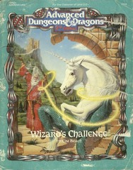 AD&D 2E HHQ2 Wizard's Challenge #9359