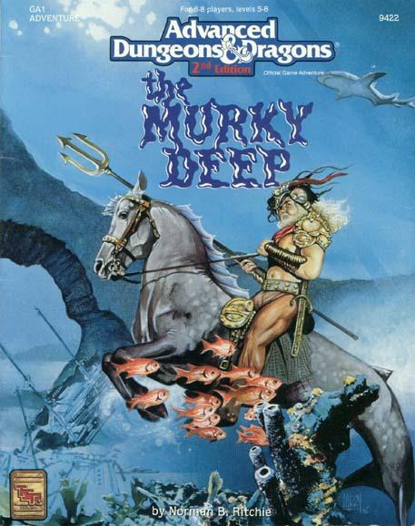 AD&D(2E) GA1 - The Murky Deep 9422