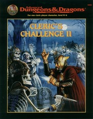 AD&D 2E - Cleric's Challenge II 9483