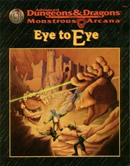 AD&D - Monstrous Arcana - Eye to Eye 9536
