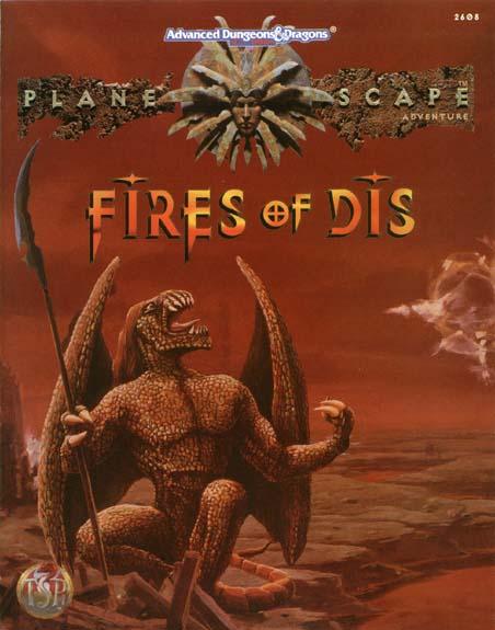 Planescape - Fires of Dis - AD&D 2E