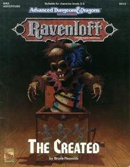 Ravenloft RM2- The Created 9414