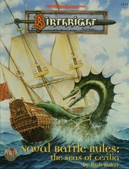 Birthright - Naval Battle Rules: The Seas of Cerilia 3134 Box Set