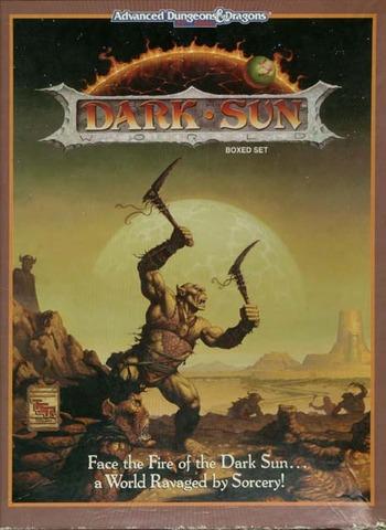 AD&D 2E Dark Sun Boxed Set 2400