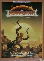 AD&D 2E Dark Sun Boxed Set 2400