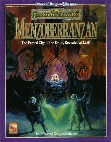 AD&D(2e) - Menzoberranzan 1083 Box Set
