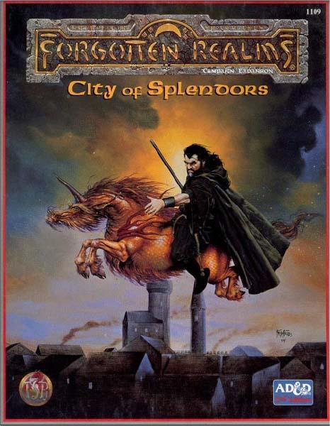 AD&D(2e) - City of Splendors 1109 Box Set