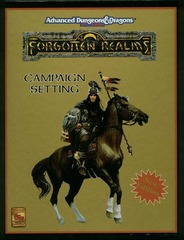 AD&D(2e) - Forgotten Realms Campaign Setting (New Edition) 1085 Box Set