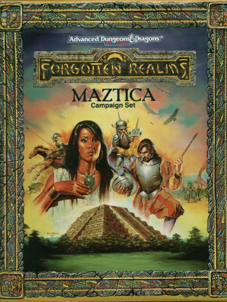 AD&D(2e) - Maztica Campaign Set 1066 Box Set