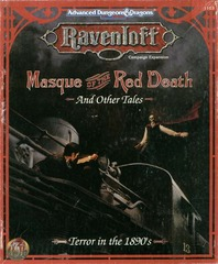 Ravenloft - Masque of the Red Death and Other Tales 1103 Box Set