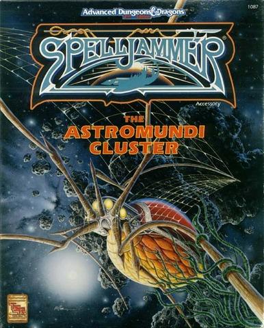 AD&D Spelljammer - The Astromundi Cluster 1087